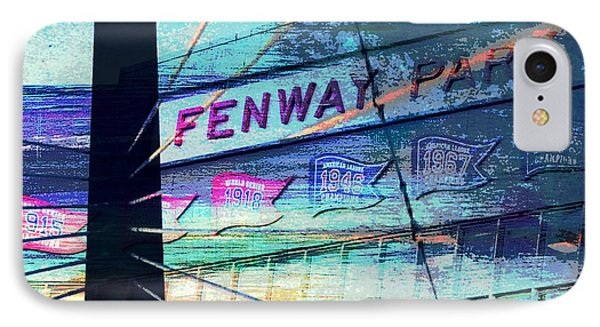 Fenway Park V4 IPhone Case by Brandi Fitzgerald