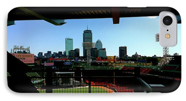 Fenway Park, Xi  IPhone Case by Iconic Images Art Gallery David Pucciarelli
