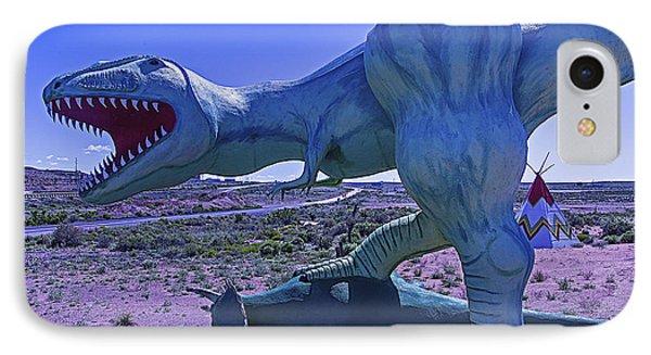 Ferious Dinosaur Trex IPhone Case