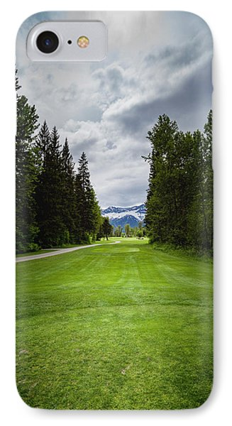 IPhone Case featuring the photograph Fernie Tee Box by Darcy Michaelchuk