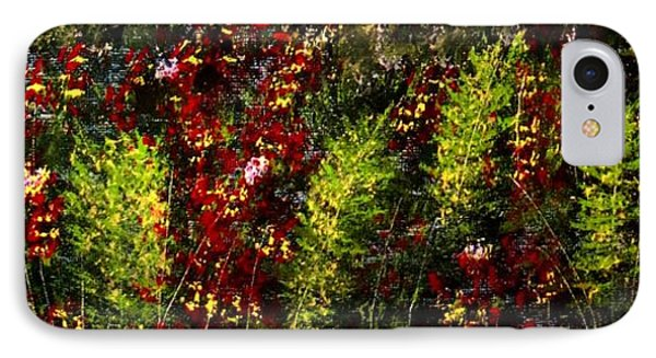 Ferns And Berries IPhone Case