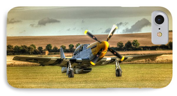 Ferocious Frankie Taxiing IPhone Case by Nigel Bangert