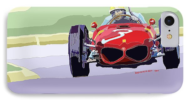 Ferrari 156 Dino 1962 Dutch Gp IPhone Case