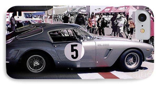 Ferrari 250 Gt Bertinetta IPhone Case by Curt Johnson
