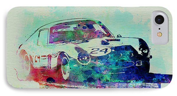 Ferrari 250 Gtb Racing IPhone Case by Naxart Studio
