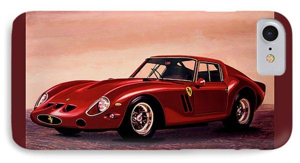 Ferrari 250 Gto 1962 Painting IPhone Case