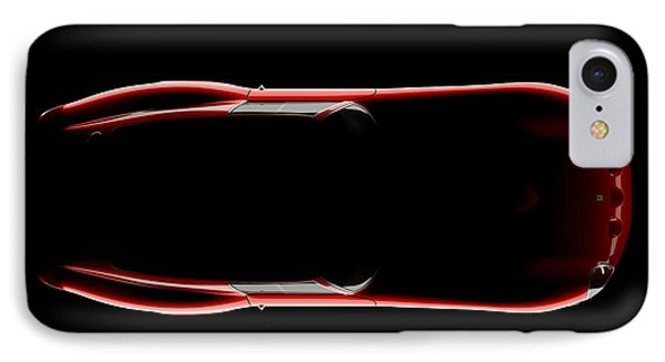 Ferrari 250 Gto - Top View IPhone Case