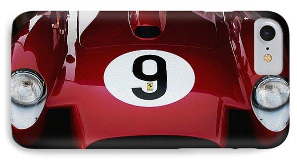 Ferrari 250 Tr 1957 IPhone Case by Curt Johnson