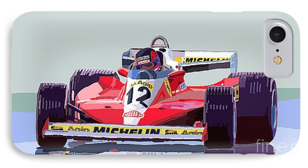 Ferrari 312 T3 1978 Canadian Gp IPhone Case