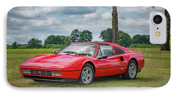 IPhone Case featuring the photograph Ferrari 328 Gts by Adrian Evans