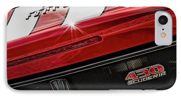 IPhone Case featuring the photograph Ferrari 430 Scuderia by Brad Allen Fine Art