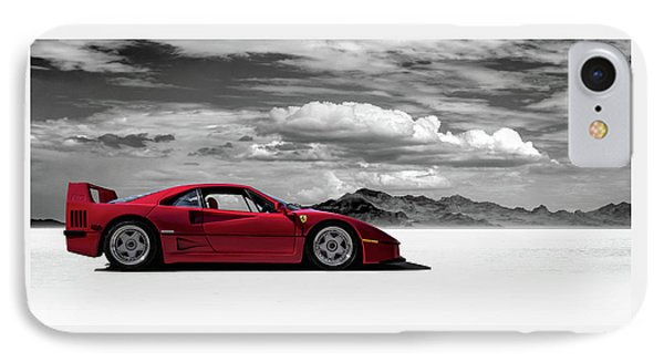 Ferrari F40 IPhone Case by Douglas Pittman