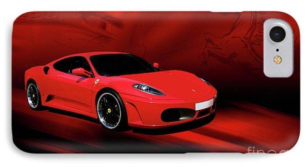 Ferrari F430 IPhone Case by Joel Witmeyer