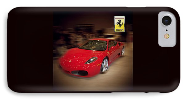 Ferrari F430 - The Red Beast IPhone Case by Serge Averbukh