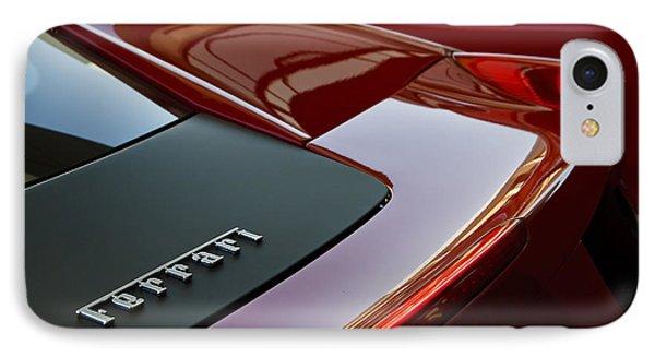Ferrari Italia IPhone Case by Dennis Hedberg