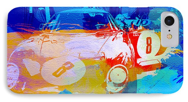 Ferrari Pit Stop IPhone Case by Naxart Studio