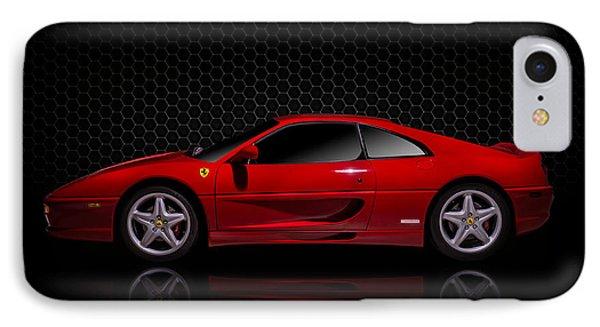 Ferrari Red - 355  F1 Berlinetto Phone Case by Douglas Pittman