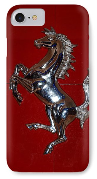 Ferrari Stallion Phone Case by Rob Hans