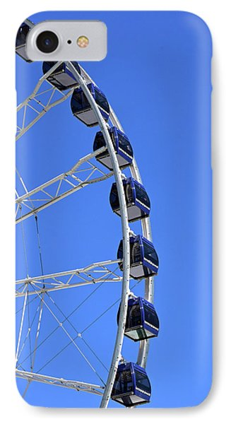 Ferris Wheel At Navy Pier, Chicago No. 1 IPhone 7 Case by Sandy Taylor