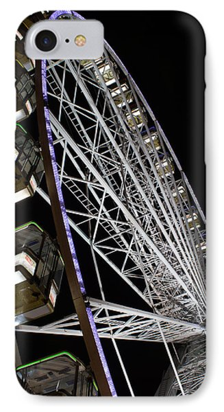 Ferris Wheel At Night 16x20 IPhone Case