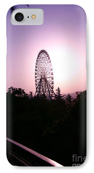 Ferris Wheel  IPhone Case by Lali Kacharava