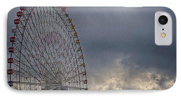 IPhone Case featuring the photograph Ferris Wheel by Tad Kanazaki