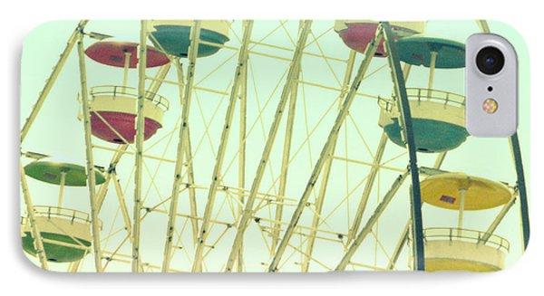 IPhone Case featuring the digital art Ferris Wheel by Valerie Reeves