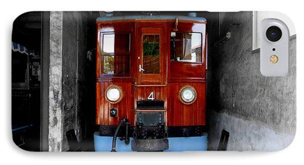 Ferrocarrril De Soller Phone Case by Charles Stuart