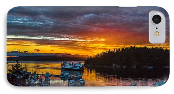Ferry Boat Sunrise IPhone Case