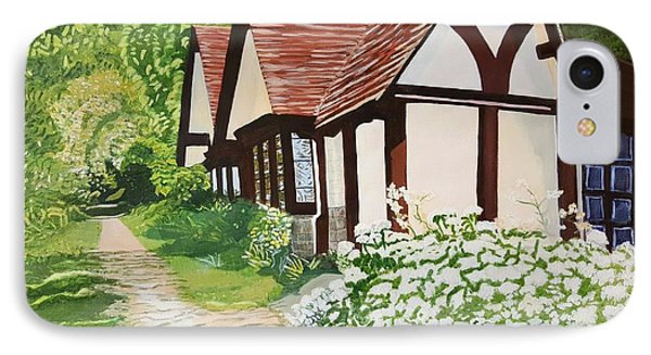Ferry Cottage IPhone Case by Joanne Perkins