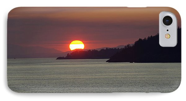 Ferry Sunset IPhone Case