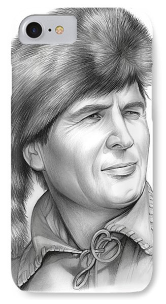 Fess Parker IPhone Case