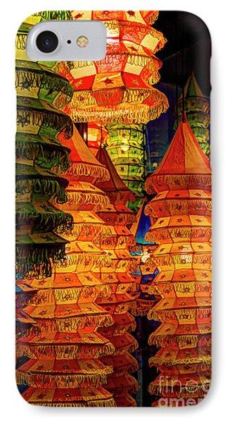 Festival Lanterns IPhone Case by Gary Holmes