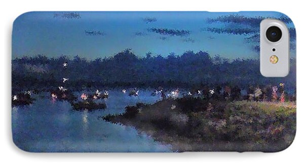 Festival Night Land And Shore IPhone Case by Felipe Adan Lerma