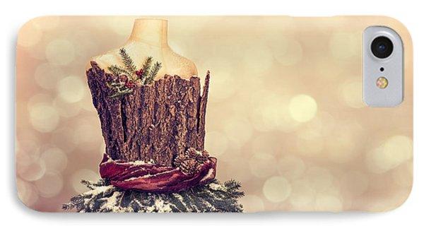 Festive Christmas Mannequin IPhone Case