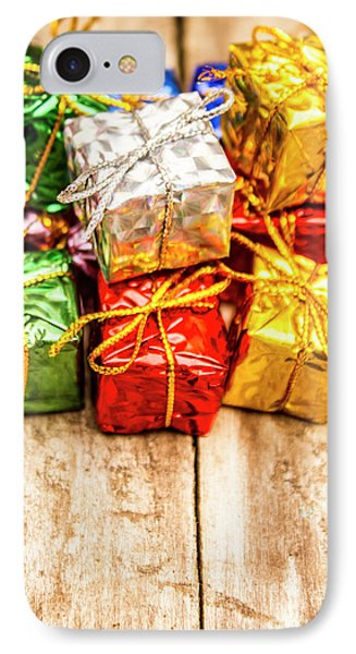 Festive Greeting Gifts IPhone Case by Jorgo Photography - Wall Art Gallery