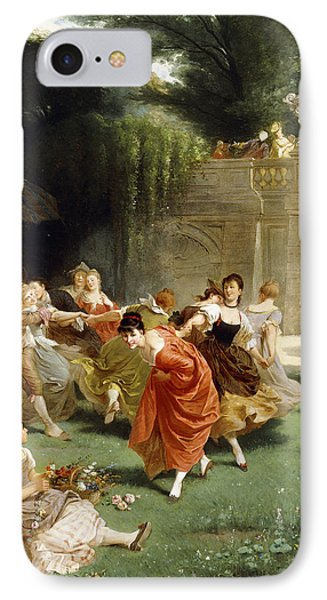 Fete Champetre IPhone Case by Emile Antoine Bayard