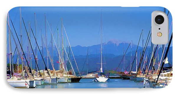 Fethiye Harbour IPhone Case by Rob Tullis