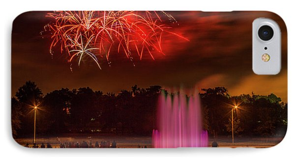 Fair St Louis 4th Of July Fireworks IPhone Case