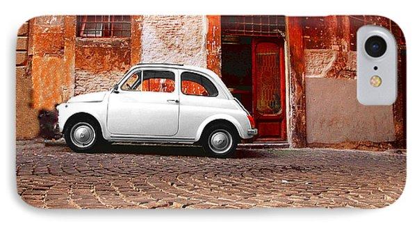 Fiat 500 IPhone Case by Valentino Visentini