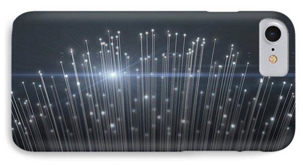 Fiber Optics Close IPhone Case