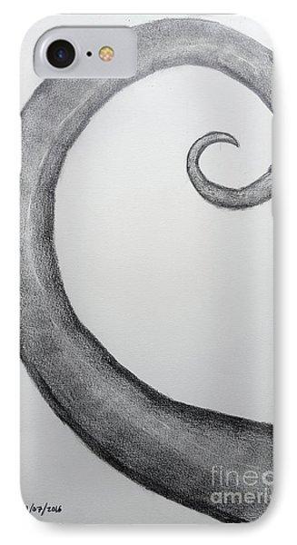 Fibonacci Spiral No.1 IPhone Case