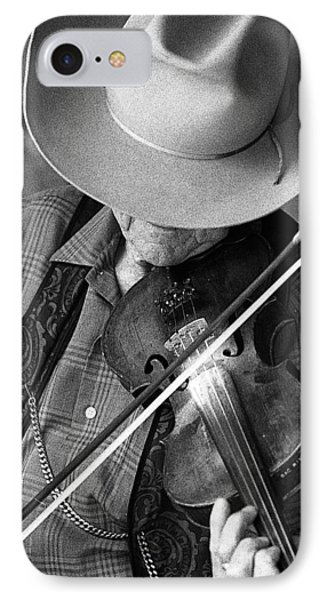 IPhone Case featuring the photograph Fiddler #1 by Jim Mathis