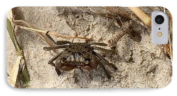 IPhone Case featuring the photograph Fiddler Crab by Janice Spivey