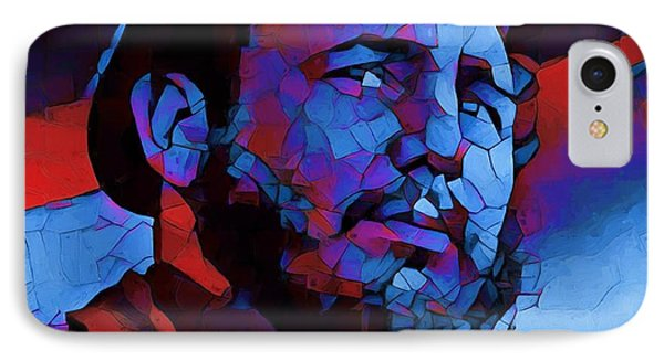 Fidel IPhone Case by Dan Sproul