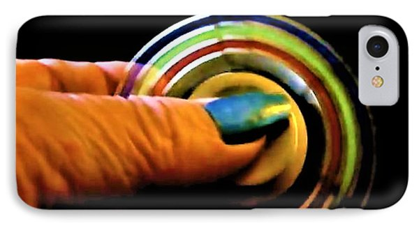 IPhone Case featuring the photograph Fidgets by Denise Fulmer