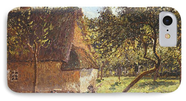 Field At Varengeville IPhone Case by Camille Pissarro