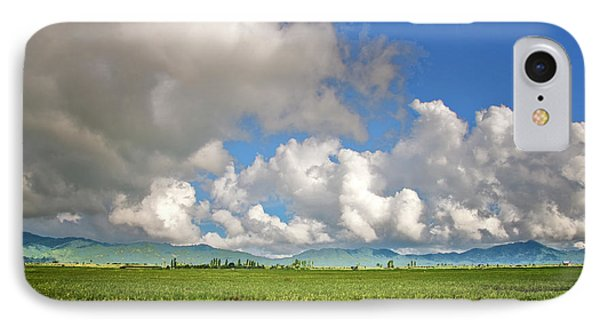 IPhone Case featuring the photograph Field by Charuhas Images