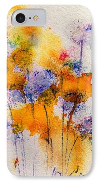 Field Flowers IPhone Case by Anne Duke