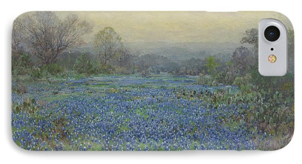 Field Of Bluebonnets IPhone Case by Julian Onderdonk